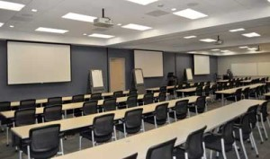 Installed Classroom Projector