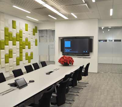 Audio Video Enabled Conference Room