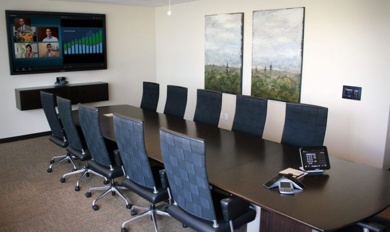 AV Integrated Boardroom