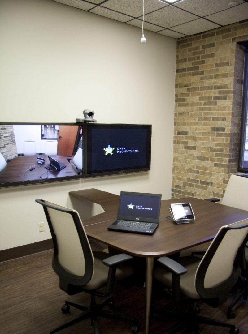 AV Integrated Huddle Room