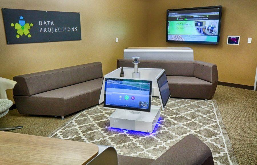 AV Integrated Lobby Room